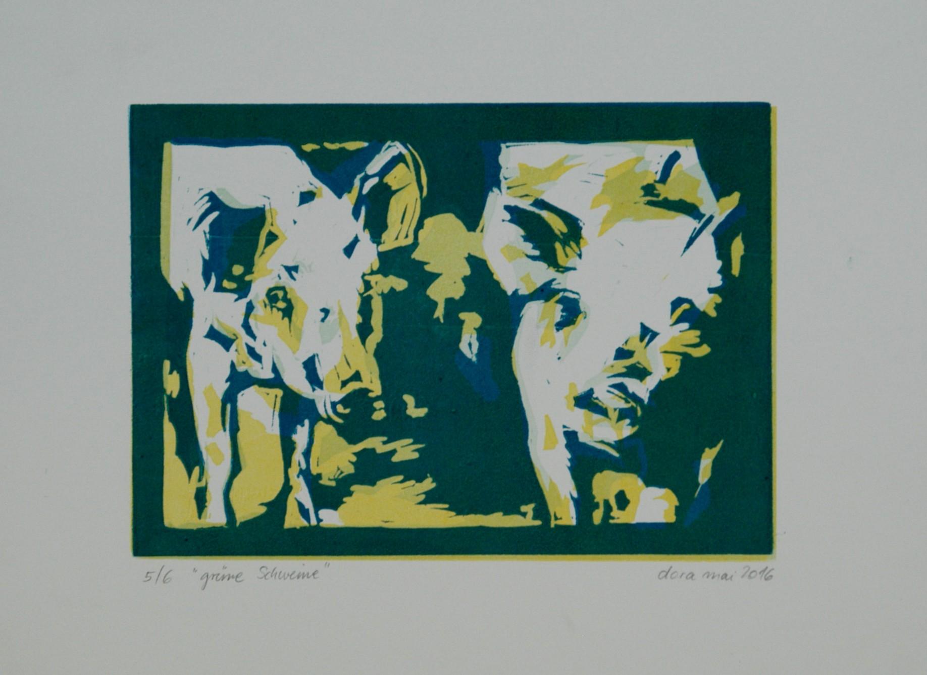 grüneschweine-linol