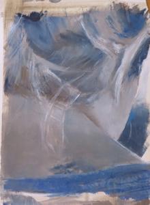 Nacken Blau