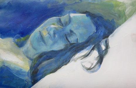 Schlaf Blau